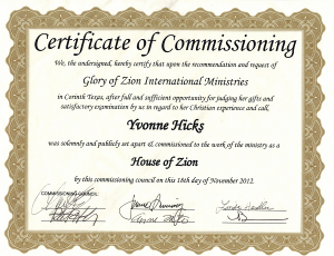 Yvonne House of Zion062013